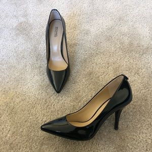 Michael Kors Black Patent Leather Heels